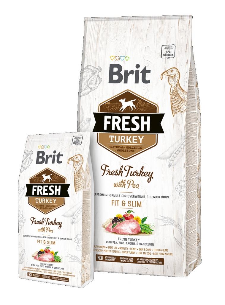 Brit Fresh Turkey with Pea Adult Fit & Slim