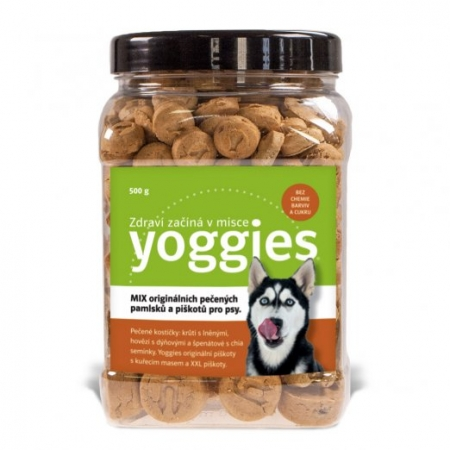 Yoggies - mix pečených pamlsků