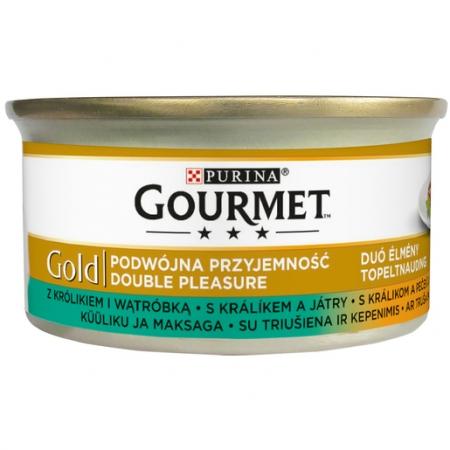 Gourmet Gold - 85 g - grilovaný králík s játry