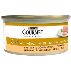 Gourmet Gold - 85 g - paštika s krůtou
