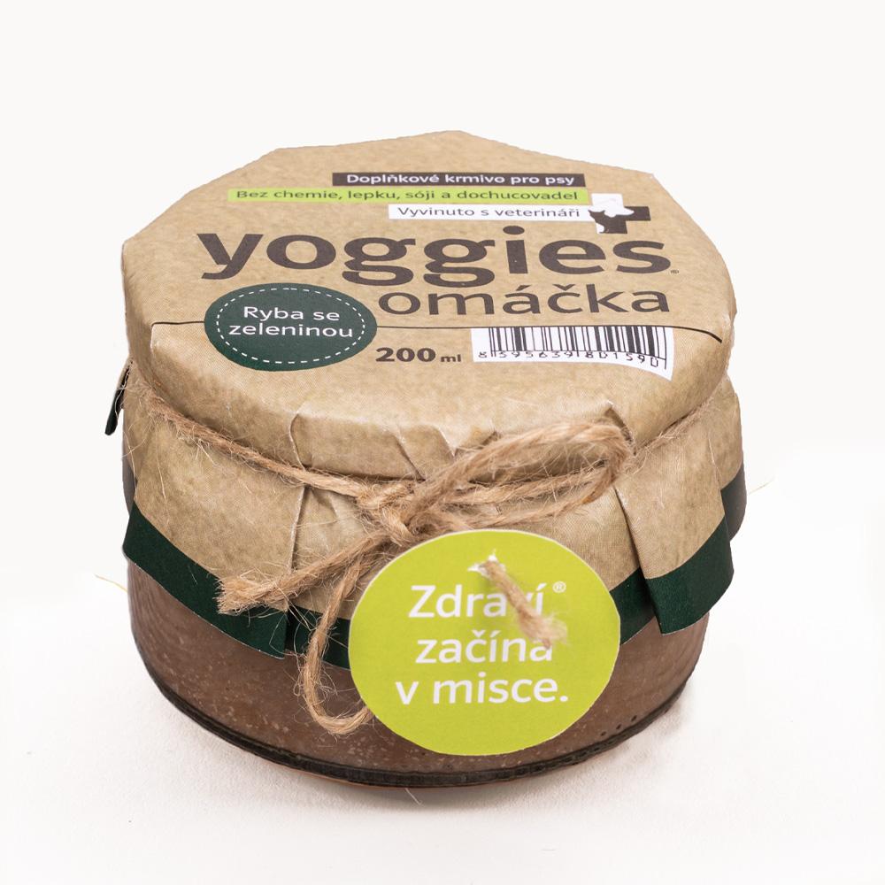 Yoggies omáčka - s rybou a kořenovou zeleninou
