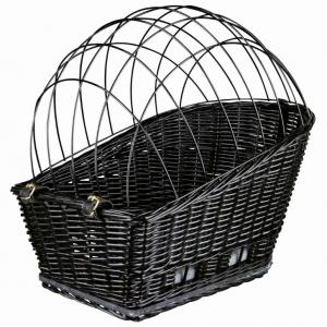 Košík na nosič, černý