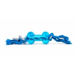Uzel bavlna s TRP kostí - modrý