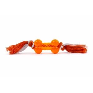Uzel bavlna s TRP kostí - oranžový