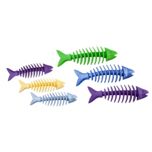 Rybí kostra s vůní - guma