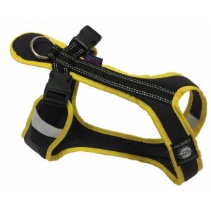 Postroj Zero Short - černo/žlutý