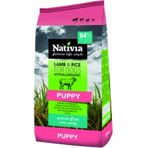 Nativia Puppy Lamb&Rice