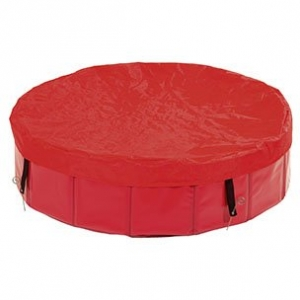 Krycí plachta na bazén Karlie - červená
