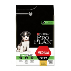 Pro Plan Puppy Medium Optistart - kuře