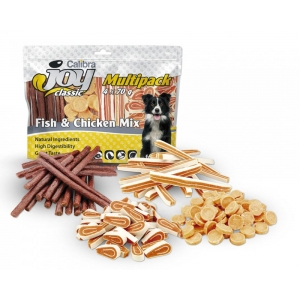 Calibra Joy Dog Multipack Fish & Chicken Mix 4x70g