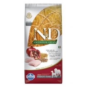 N&D LG Dog Adult M/L Chicken & Pomegranate (kuře a granátové jablíčko)