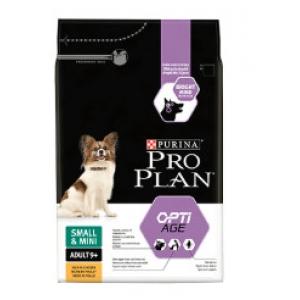 Pro Plan Adult Small & Mini 9+ Optiage - kuře