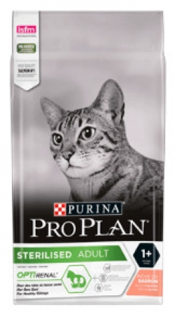 Pro Plan Cat Sterilised Optirenal - losos