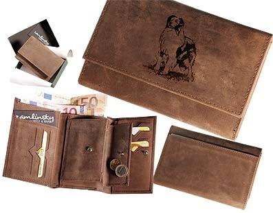 Peněženka dámská - Border kolie (009)