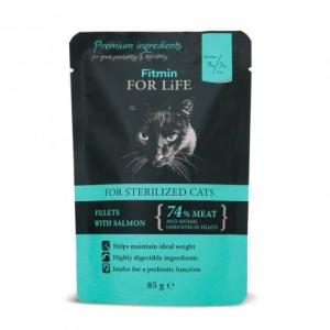 Fitmin Cat kapsička pro kastráty - 85g