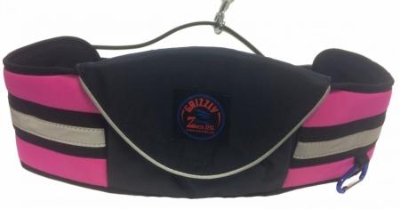 Opasek Grizzly s kapsou Zero, růžový