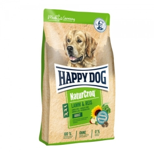 Happy Dog NaturCroq - Lamn & Reis