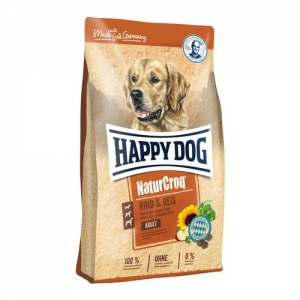 Happy Dog NaturCroq - Rind & Reis