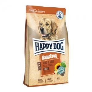 Happy Dog NaturCroq - Rind & Reis