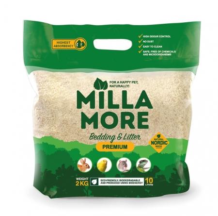 Substrát - štěpky osikové, Milla More Premium