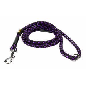Vodítko lanové Uzlík - černo-fialové