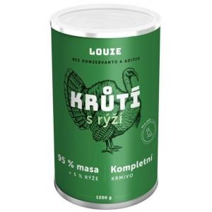 Louie konzerva pro psy krůtí s rýží