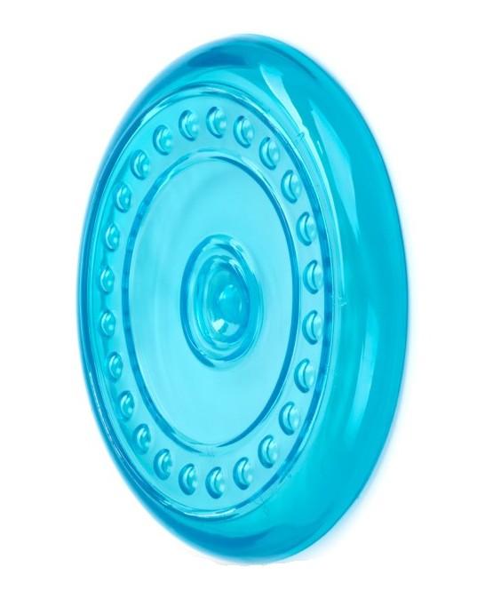 Létající talíř z termoplastické gumy - modrý