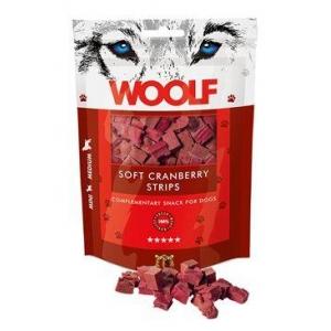 WOOLF soft cranberry strips