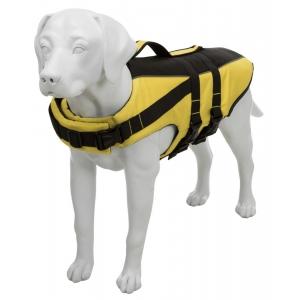 Záchranná / plavací vesta pro psy - žluto/černá