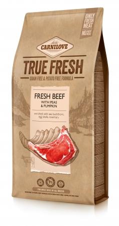 Carnilove True Fresh - Fresh Beef with Peas and Pumpkin