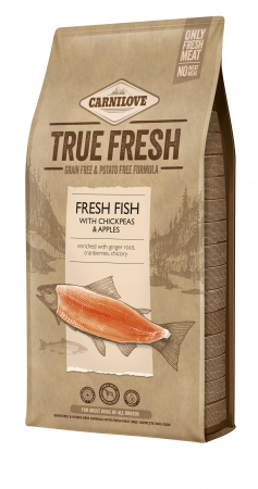 Carnilove True Fresh - Fresh Fish with Chickpeas and Apples