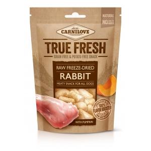 True Fresh Freeze-Dried snack RABBIT with Pumpkin