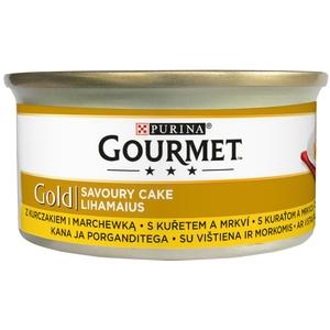 Gourmet Gold 85 g Savoury Cake - kuře a mrkev