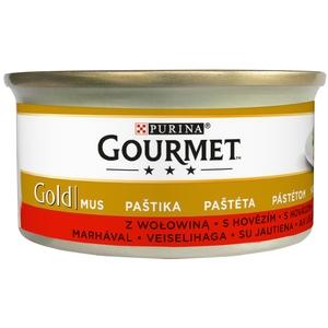 Gourmet Gold 85 g paštika - hovězí