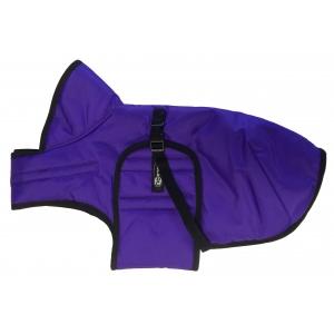 Zimní zateplená vesta s límcem Zero, fialová