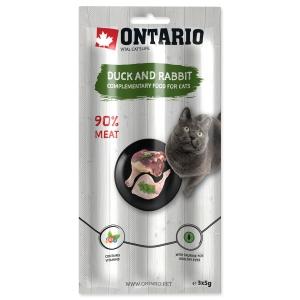 Ontario Cat Stick Duck & Rabbit - 3 x 5 g
