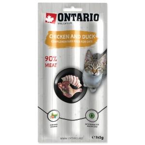 Ontario Cat Stick Chicken & Duck - 3 x 5 g