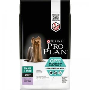 Pro Plan Adult Small & Mini Optidigest Grain Free - krůta