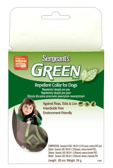 Sergeant´s Green 60 cm - repelentní obojek pro psy