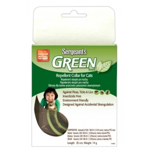 Sergeant´s Green 35 cm - repelentní obojek pro kočky