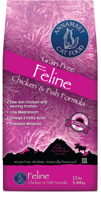 Annamaet Feline Grain Free Chicken & Fish