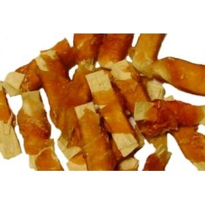 Proužky z tresky obtočené kuřecím masem - 100 g