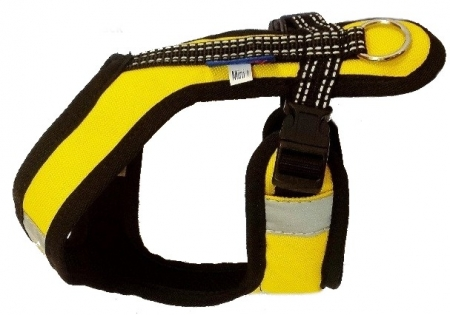 Postroj Zero Short - žluto/černý