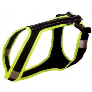 Postroj Zero Short - černo-neon zelený