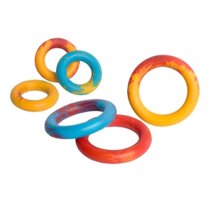 Kroužek plný s vůní - guma