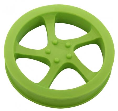 Alu disk plný - guma
