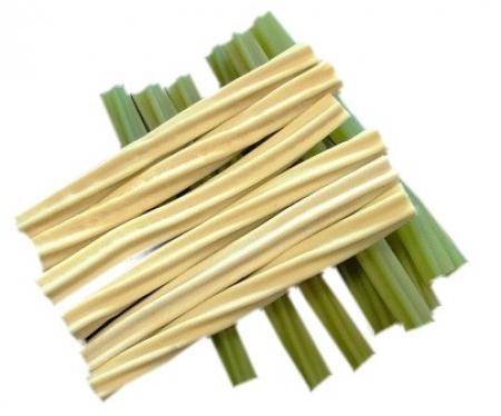 Dentální kartáčky - zelený čaj / vanilka
