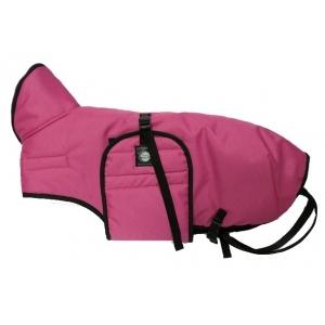 Zimní zateplená vesta s límcem Zero, růžová