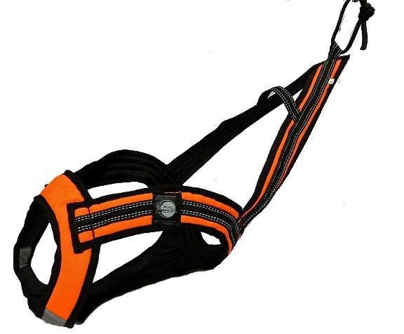Postroj Zero Faster - neon oranžovo-černý