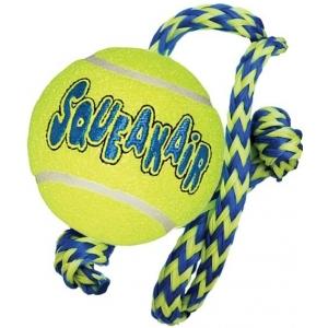 KONG tenis Air dog - míč s lanem